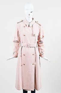 Burberry Faux Pearl Trench Coat