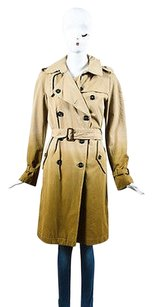 Burberry Brown Cotton Trench Coat