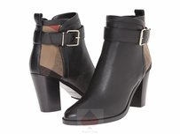 Burberry Woman Black /house check Boots