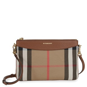 Burberry Women's 3975374 Bages Brown Clutch