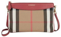 Burberry Women's Bages Crossbody 3980826 Russet Red Clutch