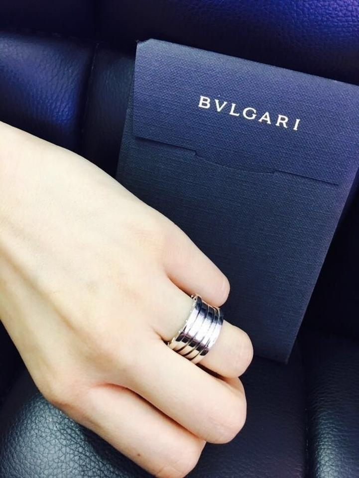BVLGARI White Gold B zero1 18k 4 Band An Us 4 5 Ring Tradesy