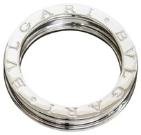 BVLGARI Bvlgari 18K White Gold B.ZERO1 1-Band Ring US SZIE 6