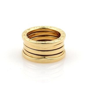 BVLGARI Bvlgari Bulgari B Zero-1 18k Gold 10mm Wide Band Ring Eu 50-us