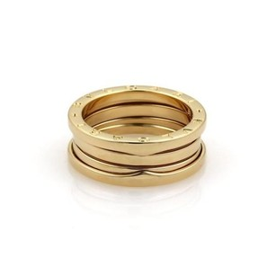 BVLGARI Bvlgari Bulgari B Zero-1 18k Yellow Gold 8mm Wide Band Ring 58-us