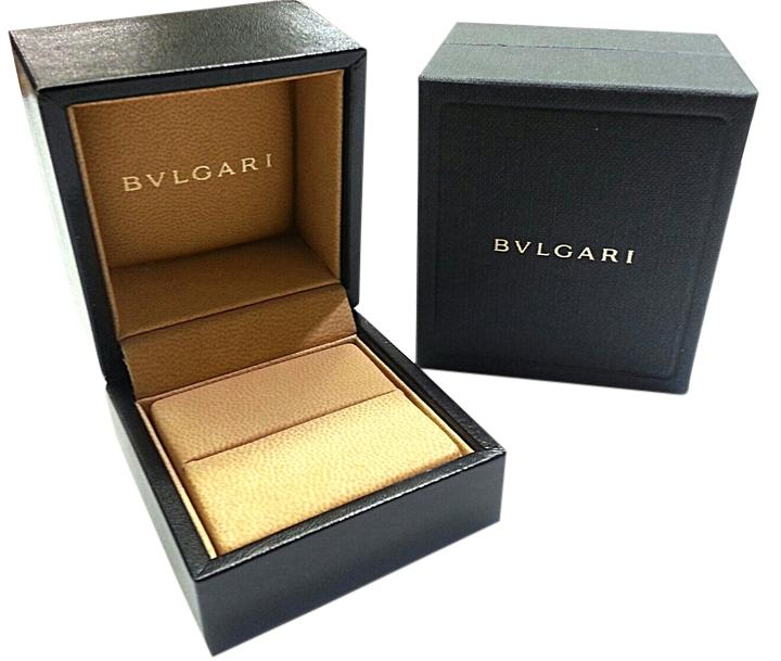 BVLGARI Small Leather Ring Box Tradesy