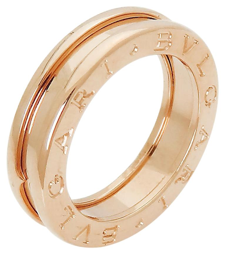 bvlgari womenu0027s bulgari bvlgari 18k rose gold bzero wedding band ring d199