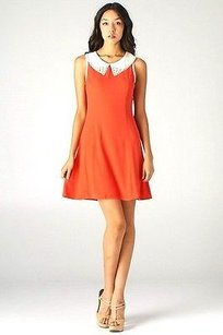 C. Luce short dress Red/White Red Sleeveless Whitee on Tradesy