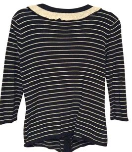 CAbi Strip Sweater