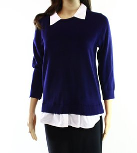 Cable & Gauge Collared Long Sleeve Sweater