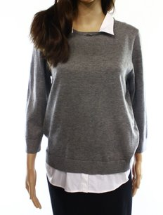 Cable & Gauge Collared Sweater