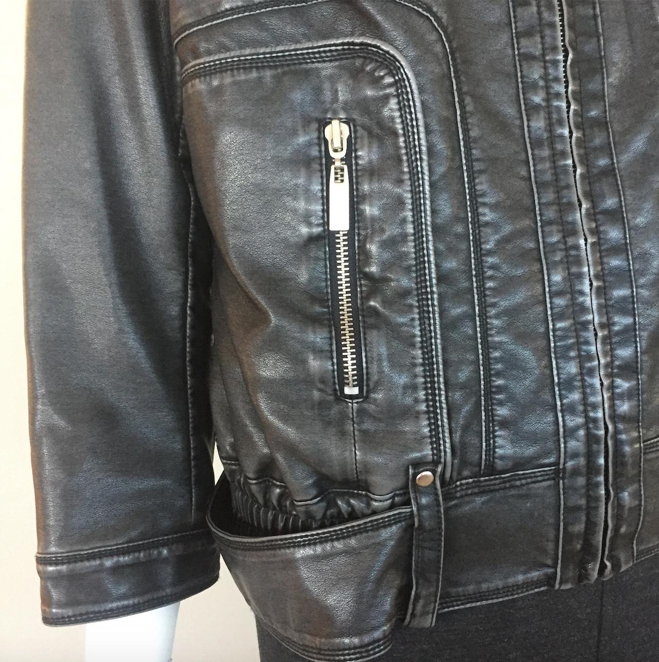 Cache leather jacket