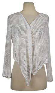 Calvin Klein Womens Cardigan Knit Cotton Casual Shirt Sweater