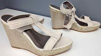 Calvin Klein Collection Synthetic Ivory Sandals
