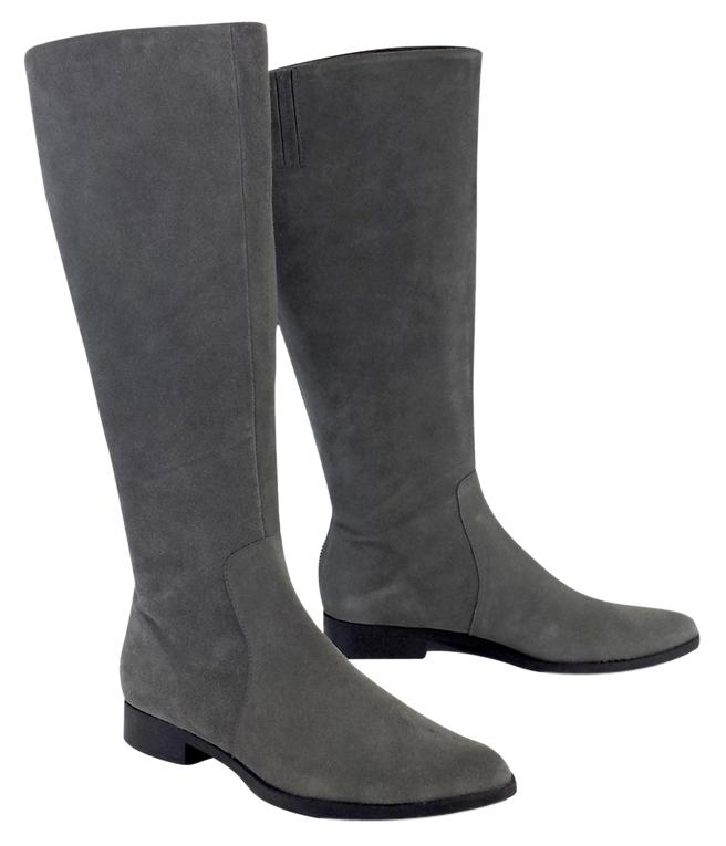 calvin klein grey suede boots boots booties on sale at