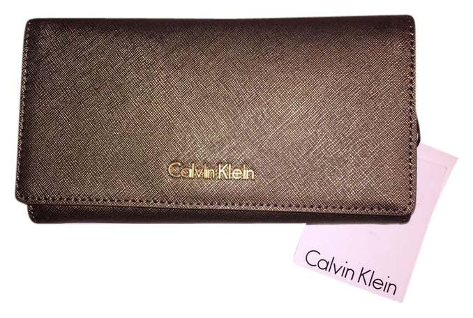 Calvin klein gold clutch