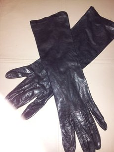 Caresskin by Superb Size 7 Washable Real Leather Long Gloves