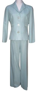 Carlisle Carlisle Wool Silk Pant Suit Medium 6 Pants Blazer