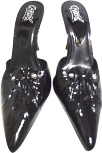 Carlos by Carlos Santana BLACK PATENT LEAther Mules