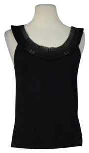 Carmen Marc Valvo Collection Top Black