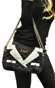 Carmin Tuxedo Channel Crossbody Cross Body Chain Strap Shoulder Bag
