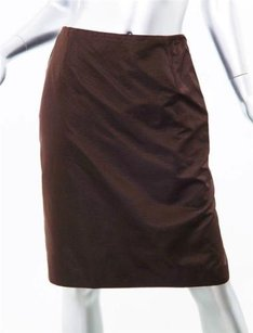 Carolina Herrera Womens Skirt Brown