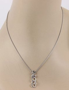 Carrera y Carrera Carrera Y Carrera 18k White Gold Diamond Swan Pendant Necklace