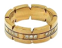 Cartier Cartier Tank Francaise 18k Yellow Gold Diamonds Ladies Ring - Size 49