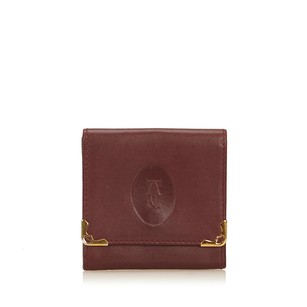 Cartier Bordeau,coin Pouch,leather,others,6hcaco003
