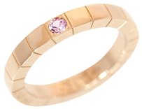 Cartier Cartier 18 K Pink Gold 1 p pink sapphire Diamond Ring Us Size 5
