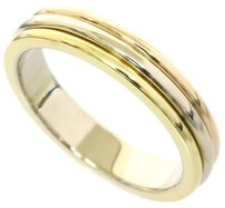 Cartier Cartier 18k Pink/White/Yellow Gold Trinity Wedding Band Ring US SIZE 5
