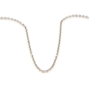 Cartier Cartier 18k White Gold Chain Link Necklace 16