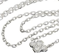 Cartier Cartier 18k White Gold Diamond Inde Mysterieuse Pendant Necklace