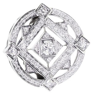 Cartier CARTIER 18K White Gold Diamond Ring US SIZE 6