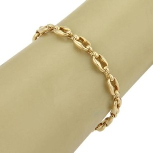 Cartier Cartier 18k Yellow Gold Fancy Oval Link Bracelet - 7 Long