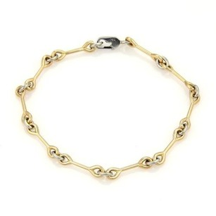 Cartier Cartier 18k Yellow White Gold Wrench Link Bracelet