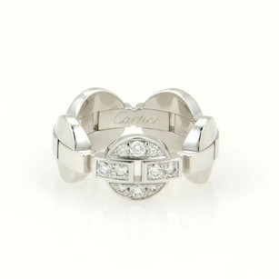 Cartier Cartier Imaria 18k White Gold Diamond Band Ring 52-us