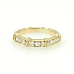 Cartier Cartier Contessa 18k Yellow Gold Diamonds Band Ring With Box