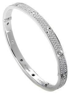 Cartier Cartier Love Diamond Pave Bangle Bracelet