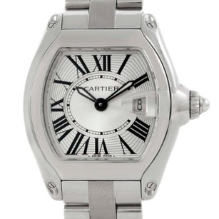 Cartier Cartier Roadster Silver Dial Ladies Steel Watch W62016v3