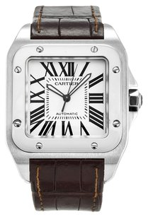 Cartier CARTIER SANTOS 100 W20073X8 STAINLESS STEEL MEN'S WATCH