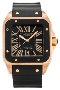 Cartier CARTIER SANTOS 100 W20124U2 ROSE GOLD MEN'S WATCH