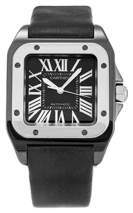 Cartier CARTIER SANTOS 100 W2020008 STAINLESS STEEL MIDSIZE WATCH
