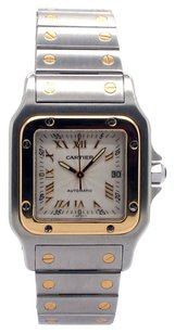 Cartier Cartier Santos Galbee W20058C4 18K Yellow Gold and Stainless Steel Unisex Watch