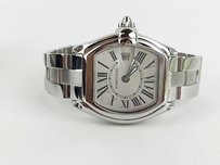 Cartier Cartier Stainless Steel Roadster 2675 Quartz Watch With Box Max061802