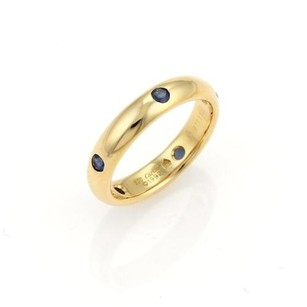 Cartier Cartier Stella Sapphire 18k Yellow Gold 4mm Band Ring - Eu 5.25
