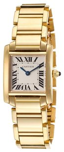 Cartier Cartier Tank Francaise 18K Yellow Gold Ivory Dial Ladies Watch