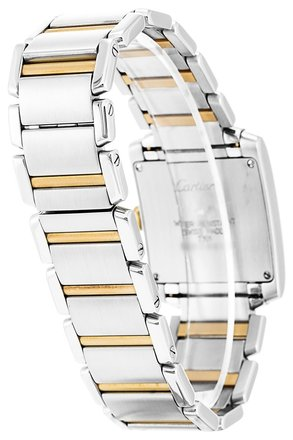 Cartier CARTIER TANK FRANCAISE W51006Q4 STEEL AND YELLOW GODL LADIES WATCH