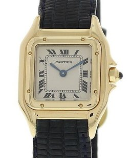 Cartier Ladies Cartier Panthere 18k Yellow Gold Watch