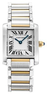 Cartier CARTIER TANK FRANCAISE W51007Q4 STEEL AND YELLOW GOLD LADIES WATCH